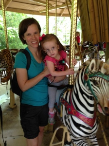 But she loved the carousel!
