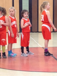 We get to watch sissy play basketball too!
